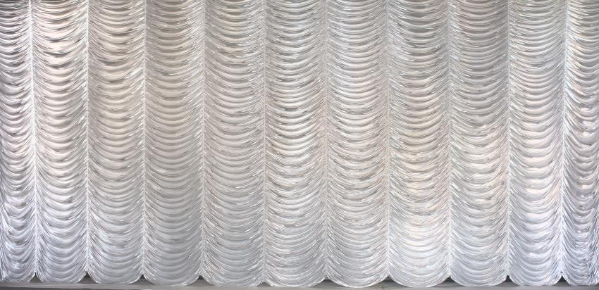 Silver Austrian Puff Drapes and Curtains | Grosh