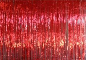 Red Rain Curtain Backdrop