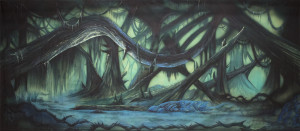 Dark Forest backdrop