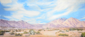 Desert Landscape 2 backdrop