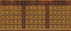 Wood Panel Interior backdrop for Chicago, The Music Man, Hello Dolly, Footloose, Mr. President, Lost in the Stars, Legally Blonde, Miracle on 34th Street plays
