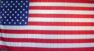 American Flag Backdrop