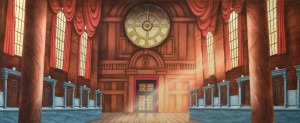 Bank Interior backdrop for Mary Poppins, banks, bank tellers, finance, financial, Catch Me If You Can, interior, business, Disney, Harry Potter plays and productions