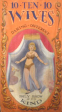 Belly Dancer Circus Banner Backdrop