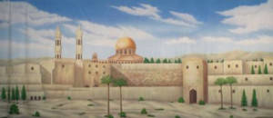 Biblical Landscape Backdrop