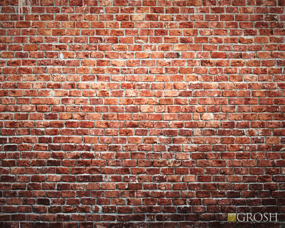 Brick Wall Pop-Up Drop Backdrop