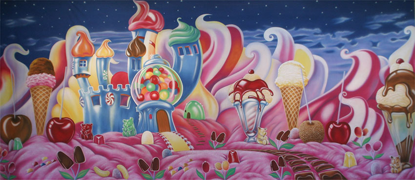 Candyland Backdrop