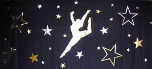 Dancer with Stars Backdrop