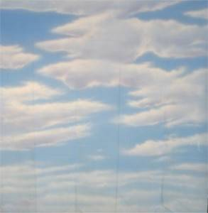 Day Sky with Clouds Backdrop