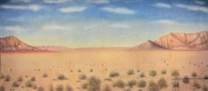 Desert Landscape 1 Backdrop