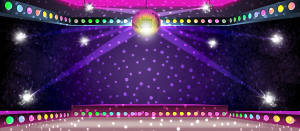 Dance Floor backdrop for Saturday Night Fever, Xanadu, disco and nightclub plays and productions