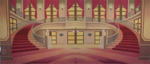 Red Palace Interior for Beauty and the Beast and Nutcracker shows