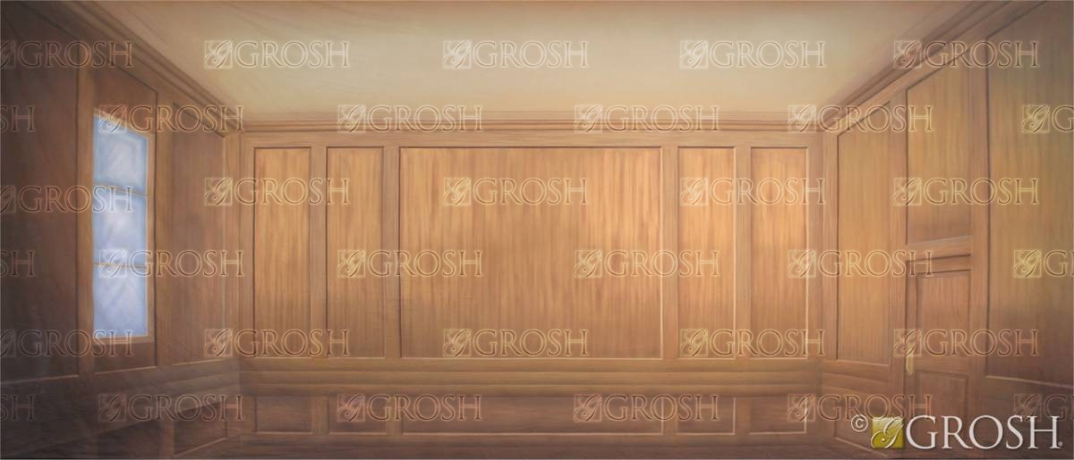 Courtroom Interior Backdrop