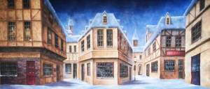 European Winter Village is ideal for Nutcracker, Scrooge and A Christmas Carol