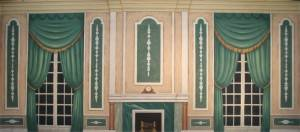 Green Victorian Parlor has been used in productions of Mary Poppins and Nutcracker