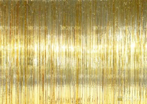 Gold Curtain for event planners, recitals, dance, plays, school productions and stages