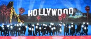 Popular Hollywood backdrop