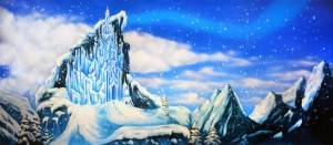 Grosh Backdrops and Projections is used in Productions of Frozen