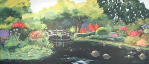 Japanese Garden Backdrop