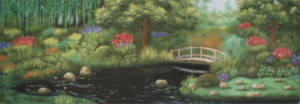 Grosh Japanese Garden Backdrop used in Productions of Mulan
