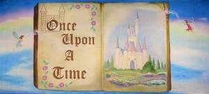 Once Upon a Time Backdrop