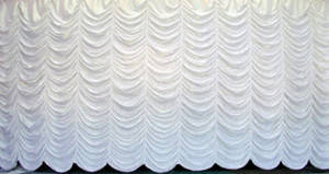 Opalescent Austrian Puff Backdrop