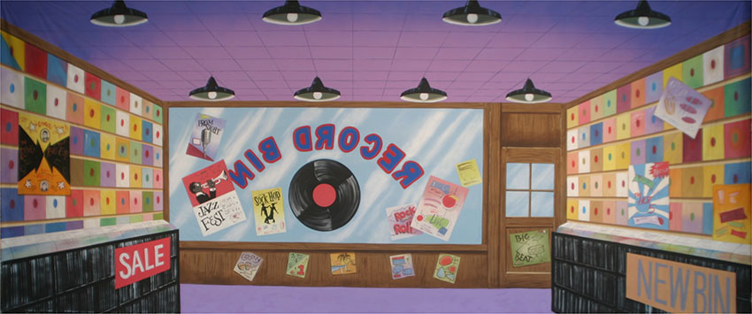 Grosh Record Store Backdrop