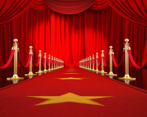 Red Carpet Pop-Up Drop Backdrop