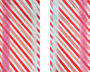 Candy Cane Leg Set backdrop for of The Nutcracker, Charlie and the Chocolate Factory and dance recitals