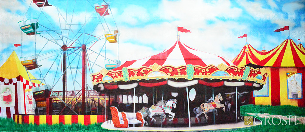 Grosh Carnival Backdrop