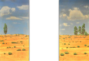 Desert Leg Set backdrops for Footloose, western, Wild West, Annie Get Your Gun, Crazy for You, desert, biblical, Joseph and the Technicolor Dreamcoat, Gypsy plays and productions