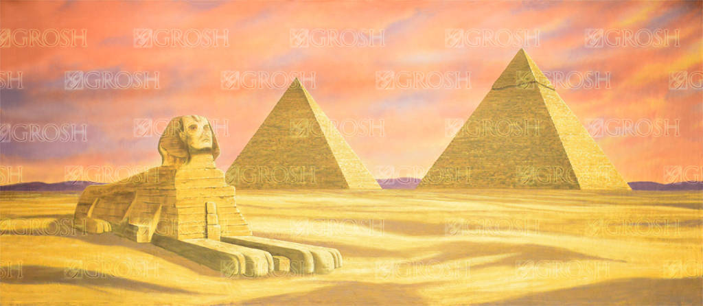 egyptian-landscape-with-sphinx-bacdrop