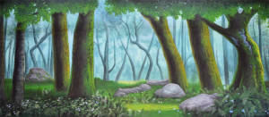 Forest Panel 3 Backdrop