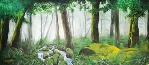 Forest Panel 1 Backdrop