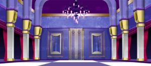 Ballroom backdrop for palace, parlors, Frozen, Beauty and the Beast, Cinderella, Mame, Nutcracker, Sound of Music, Hello Dolly plays and productions