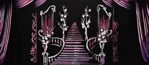 Grand Staircase for Addams Family, Beauty and the Beast, Cinderella plays and productions