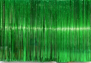 Green Rain Curtain for event planners, recitals, dance, plays, school productions and stages