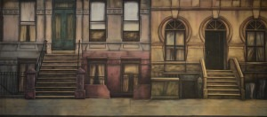 New York Borough backdrop for NYC Backdrop, New York City backdrop, Footloose, Annie, West Side Story, Rags, street, Cats, New York, New York City, NYC, tenement, West Side Story, Little Shop of Horrors, In the Heights