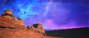 Grosh Night Desert Landscape backdrop used in productions of Joseph and the amazing dreamcoat