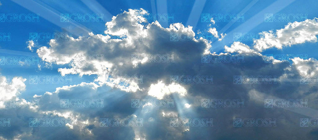 Heavenly Sky 2 backdrop for Big Fish, dance, sky, heaven, religious plays and productions