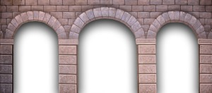 Stone Arch backdrop for churches, church, Macbeth, Hamlet, Camelot, Cinderella, Snow White, Sound of Music, dungeon, castle interior, Once Upon a Mattress, Shrek plays and productions