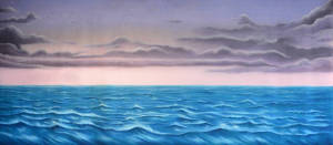 Stormy Sea backdrop for The Little Mermaid, Peter Pan, Anything Goes, Pinocchio plays and productions