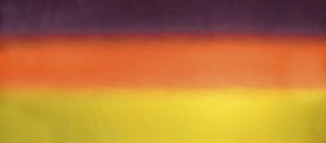 Sunset Colored Backing backdrop for Joseph and the Amazing Technicolor Dreamcoat and Easter, religious play and productions