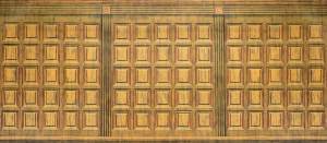 Wood Panel Interior backdrop for Chicago, The Music Man, Hello Dolly, Footloose, Mr. President, Lost in the Stars, Legally Blonde, Miracle on 34th Street plays and productions