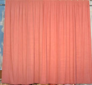 Rose Rayon Repp Drape Backdrop