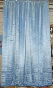 Royal Blue Satin Leg Backdrop