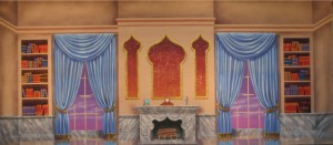 Victorian Parlor Backdrop