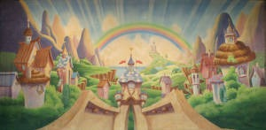 Whimsical Village is an ideal munchkinland for Wizard of Oz