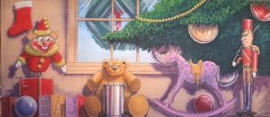 Grosh Toys Under the Tree Backdrop is used in productions of Nutcracker