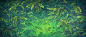 Tropical Jungle 3 Backdrop
